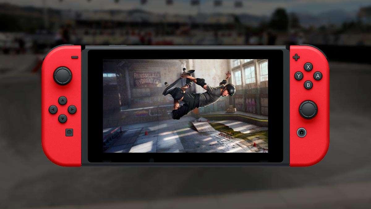 Tony Hawk's Pro Skater 1+2 para Nintendo Switch