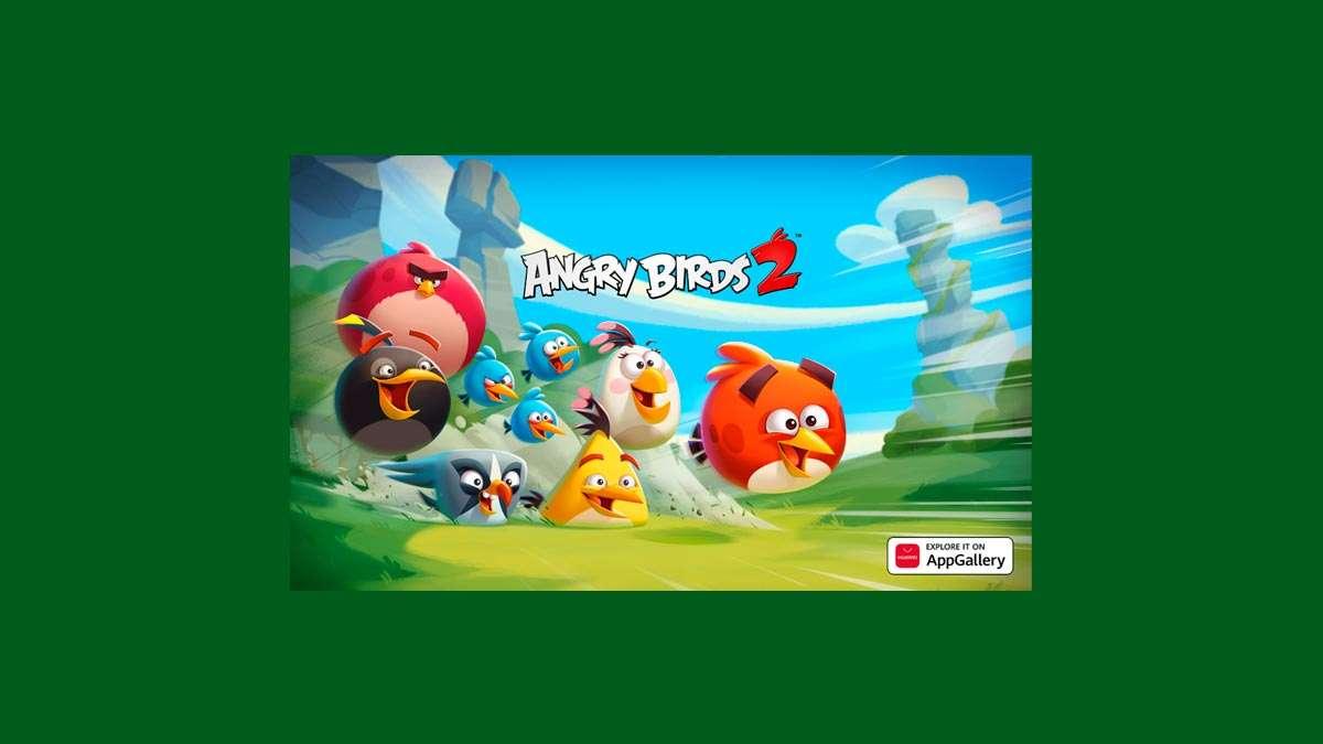 Angry Birds 2 en la App Galery
