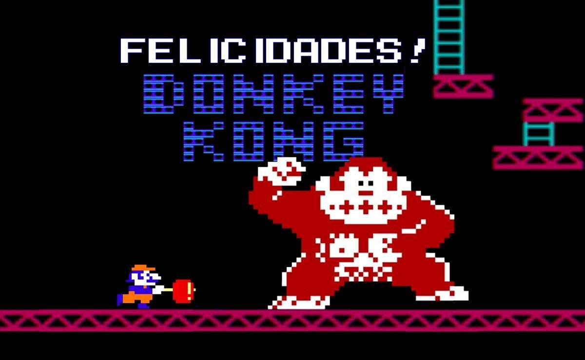 Felicidades: 40 aniversario de Donkey Kong