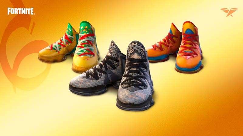 Nike LeBron 19s in Fortnite | Nike LeBron 19s in Fortnite