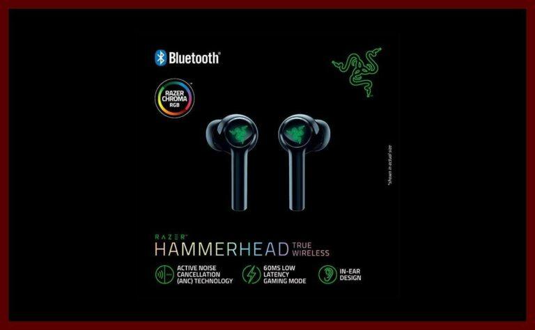 Audífonos Hammerhead True Wireless 2021 de Razer | ¿Qué puedes esperar de ellos?