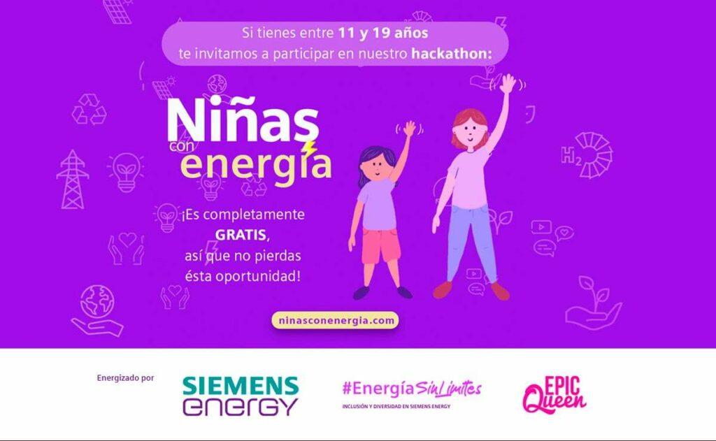 convocatoria Niñas con Energía