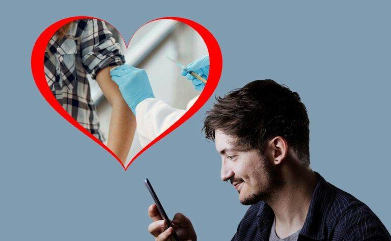 Si no te vacunaste, olvídate de conseguir crusho con apps de citas online como Tinder
