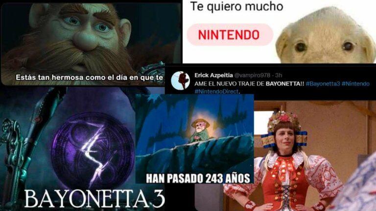 Nintendo anuncia Bayonetta 3 y los memes no se hacen esperar