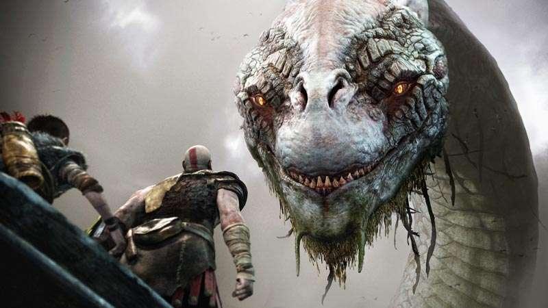 Jörmungandr, Kratos, Atreus, God of War