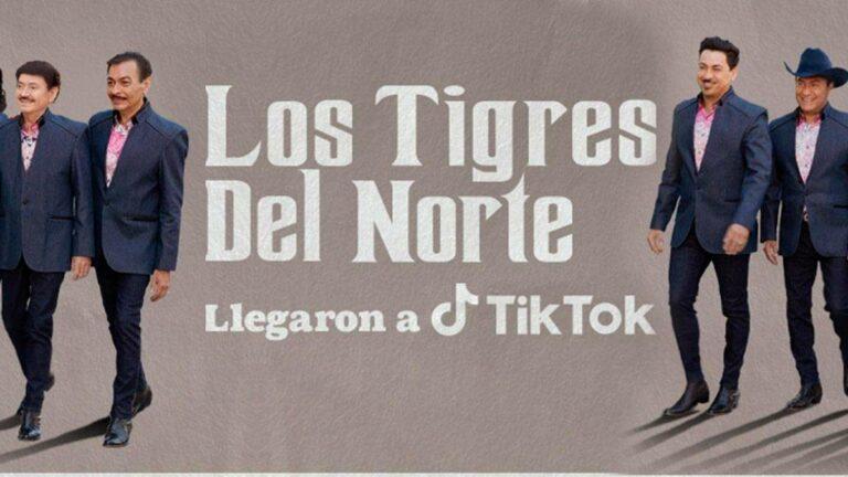 Los Tigres del Norte en TikTok | Festejan el mes patrio