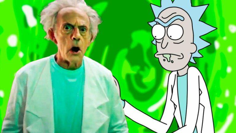 ¿El Doc Brown (Christopher Lloyd) en Live action de Rick y Morty? | Video promocional