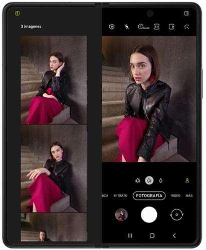 Cámara Samsung Galaxy Fold3 5G