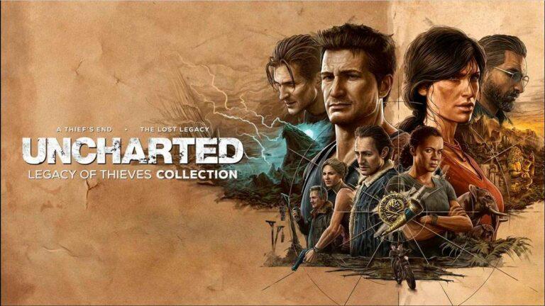 Nathan y Chloe llegarán a PS5 y PC en Uncharted: Colección Legado de ladrones