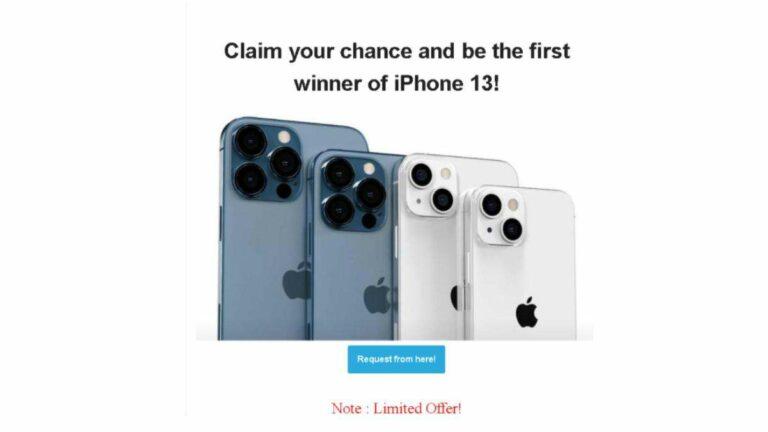 Delincuentes tras lanzamiento de iPhone 13