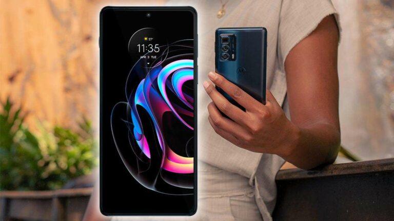 Motorola edge 20 pro ya en México: premium, potente y productivo